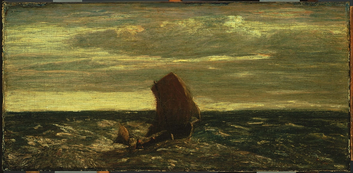 Homeward Bound de Albert Pinkham Ryder