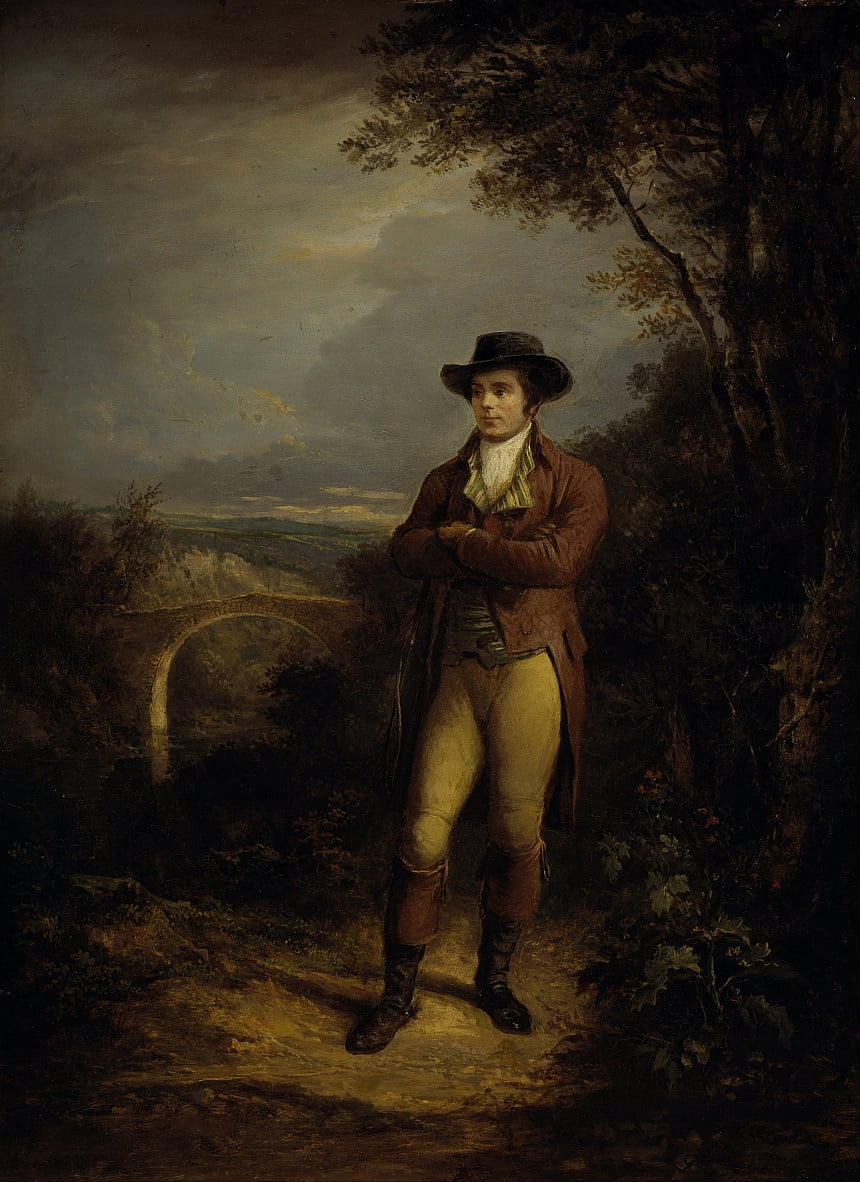 Robert Burns, 1759 de Alexander Nasmyth