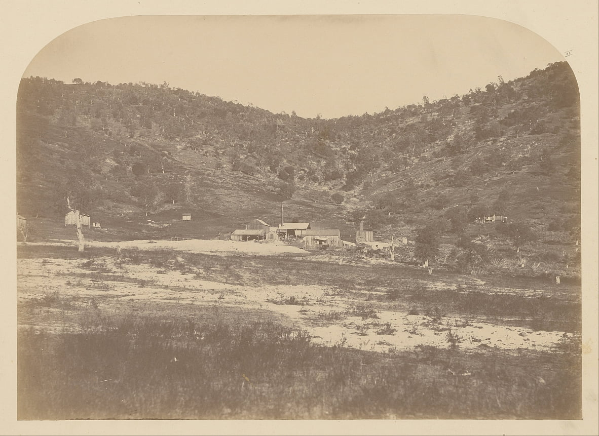 (Bear Valley Mill) de Carleton E. Watkins