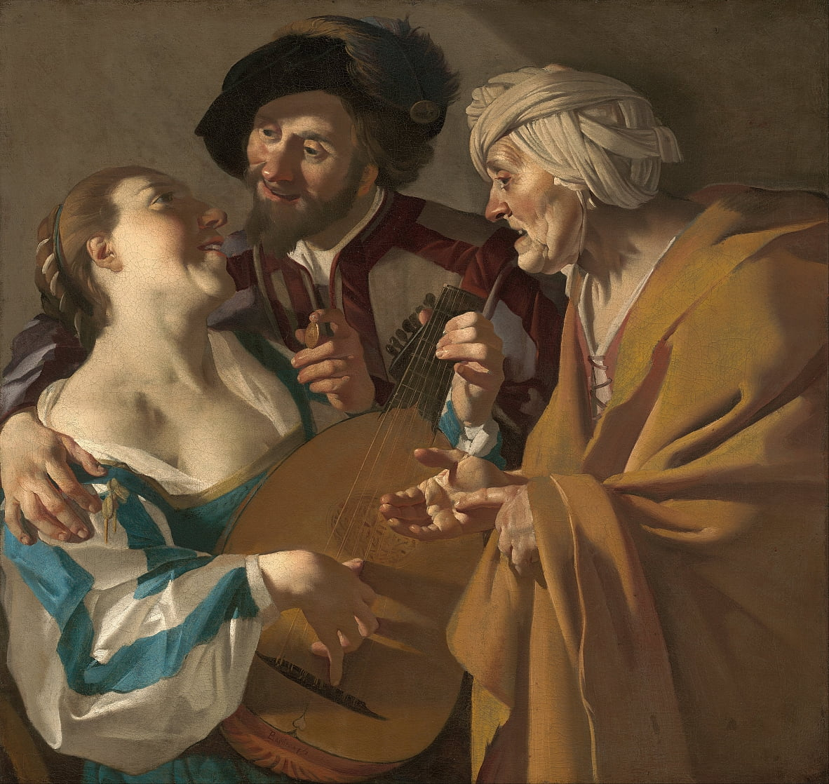 The Procuress de Dirck van Baburen