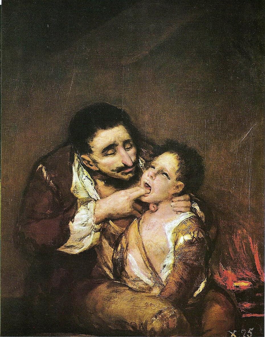 O Lazarillo de Tormes de Francisco de Goya