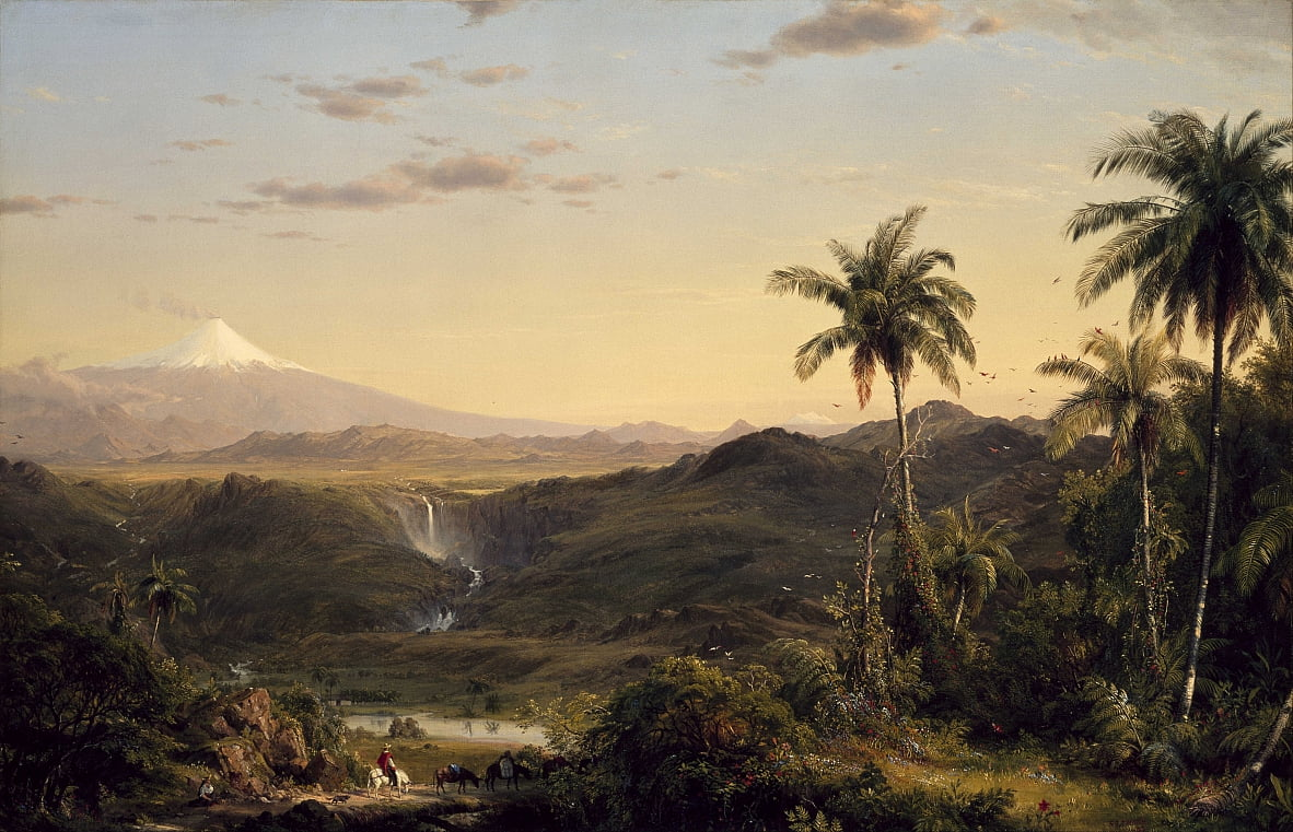 Cotopaxi de Frederic Edwin Church