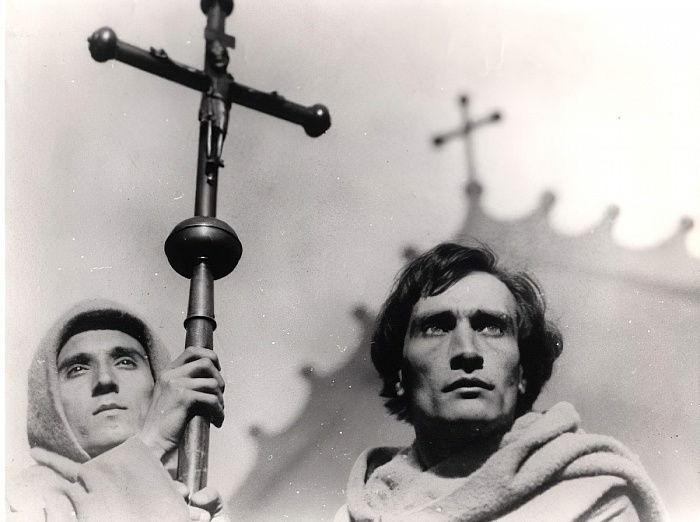 Antonin Artaud (1896-1948) no filme A paixão de J...
