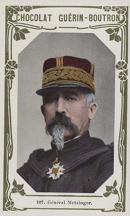 General Metzinger (foto colorida) de French School
