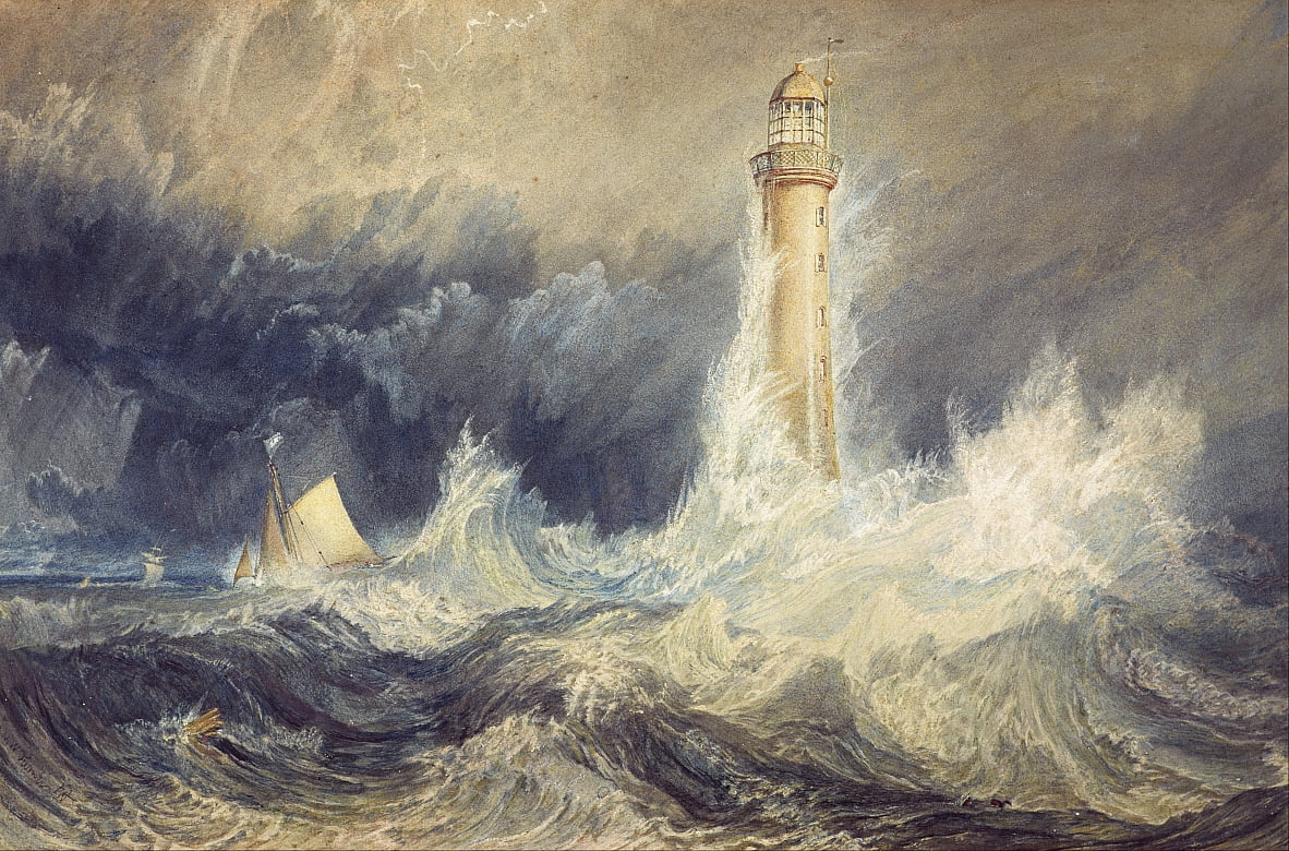 Farol de Bell Rock de Joseph Mallord William Turner