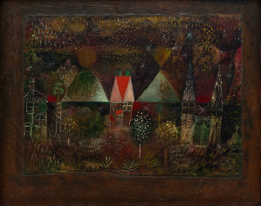 Festa da Noite, 1921. de Paul Klee