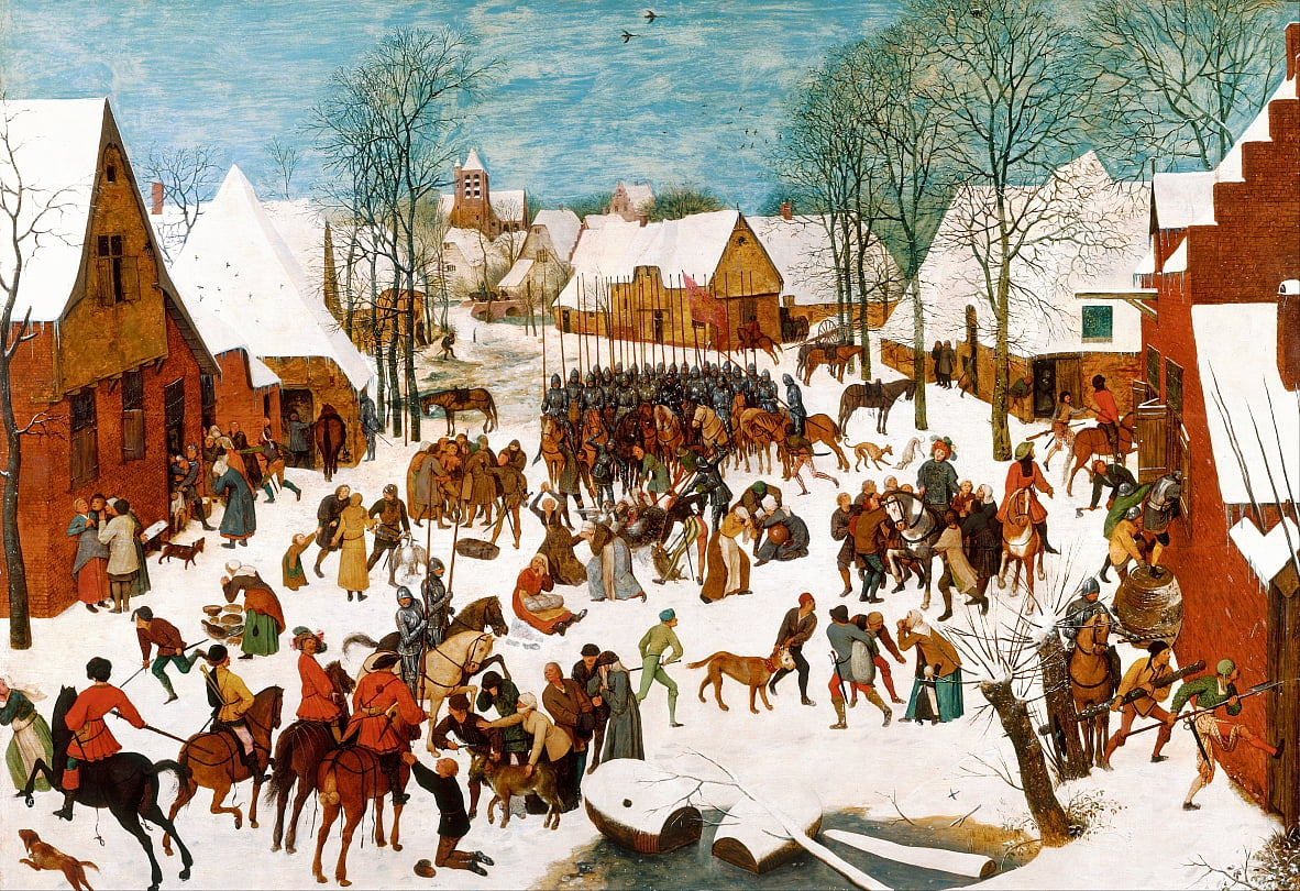 Massacre dos Inocentes de Pieter Bruegel the Elder