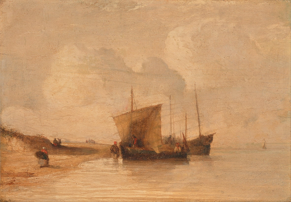 Costa da Normandia de Richard Parkes Bonington