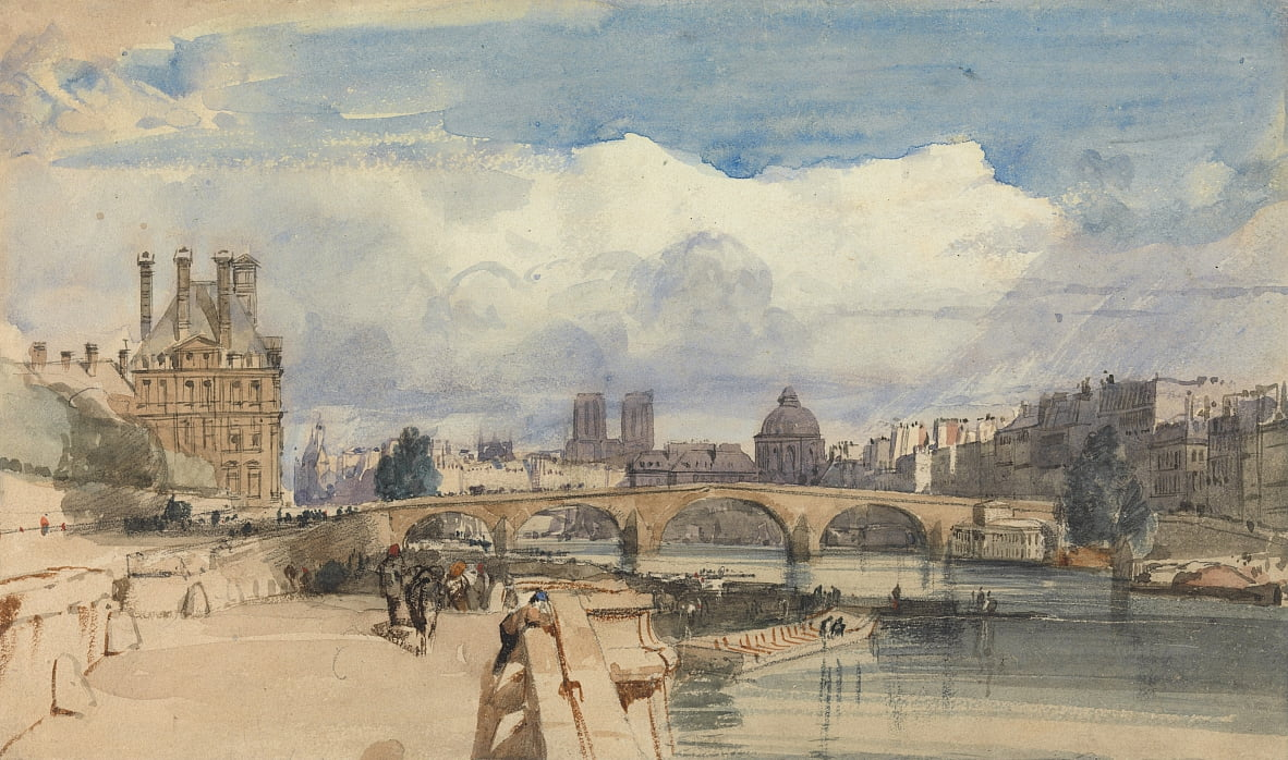 A ponte real, paris de Thomas Shotter Boys
