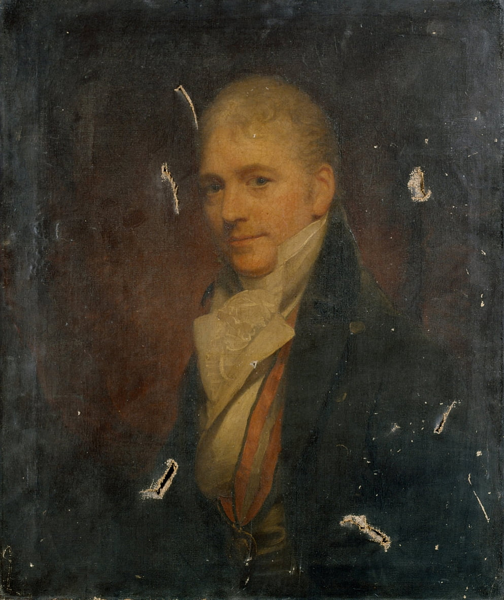 Auto-retrato depois de Beechey de William Beechey