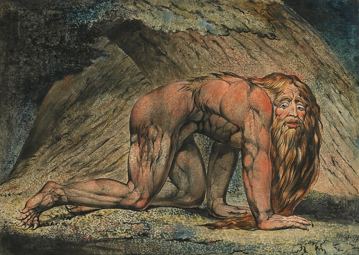 Nabucodonosor de William Blake