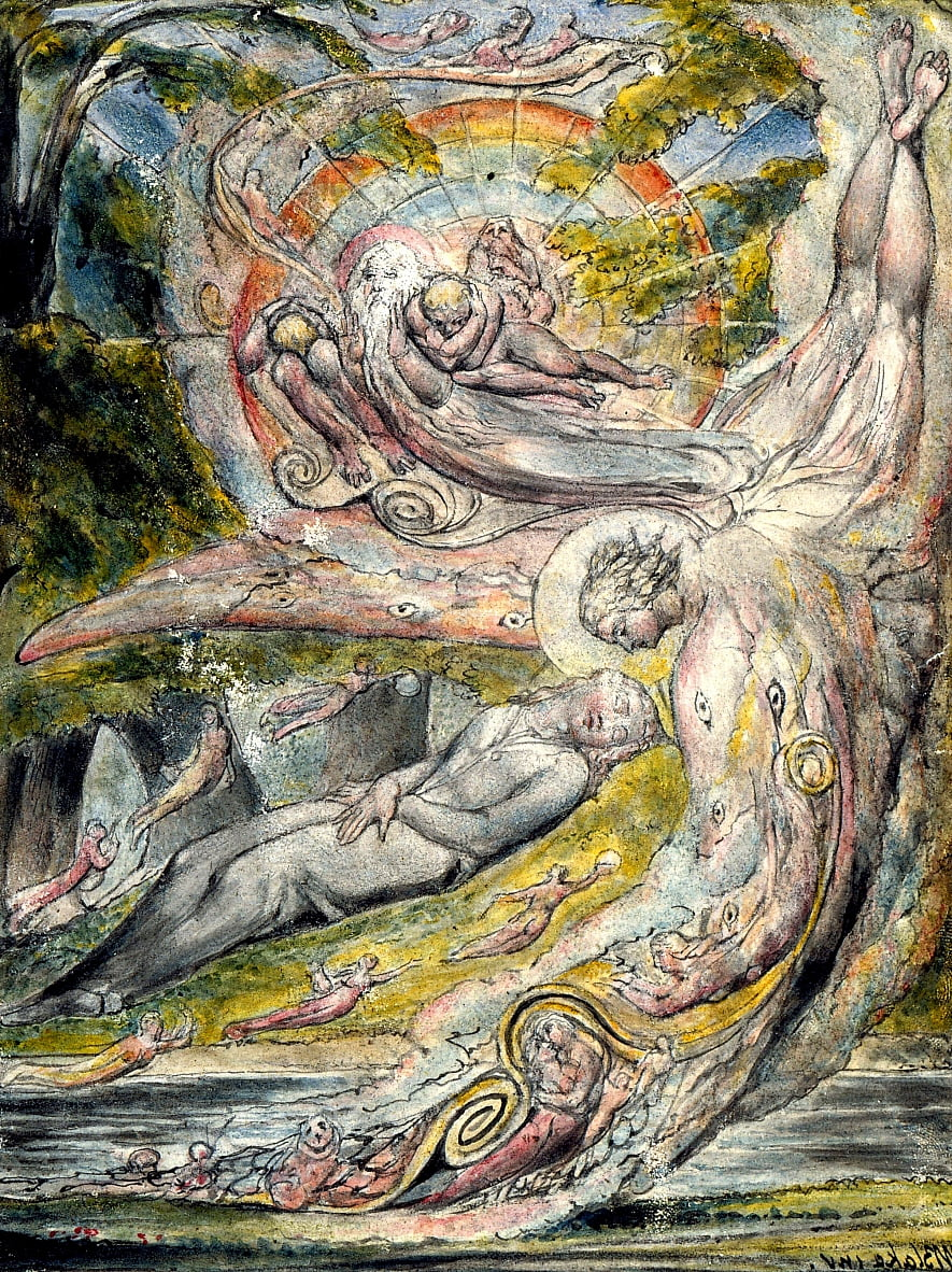 Penseroso e LAllegro de William Blake