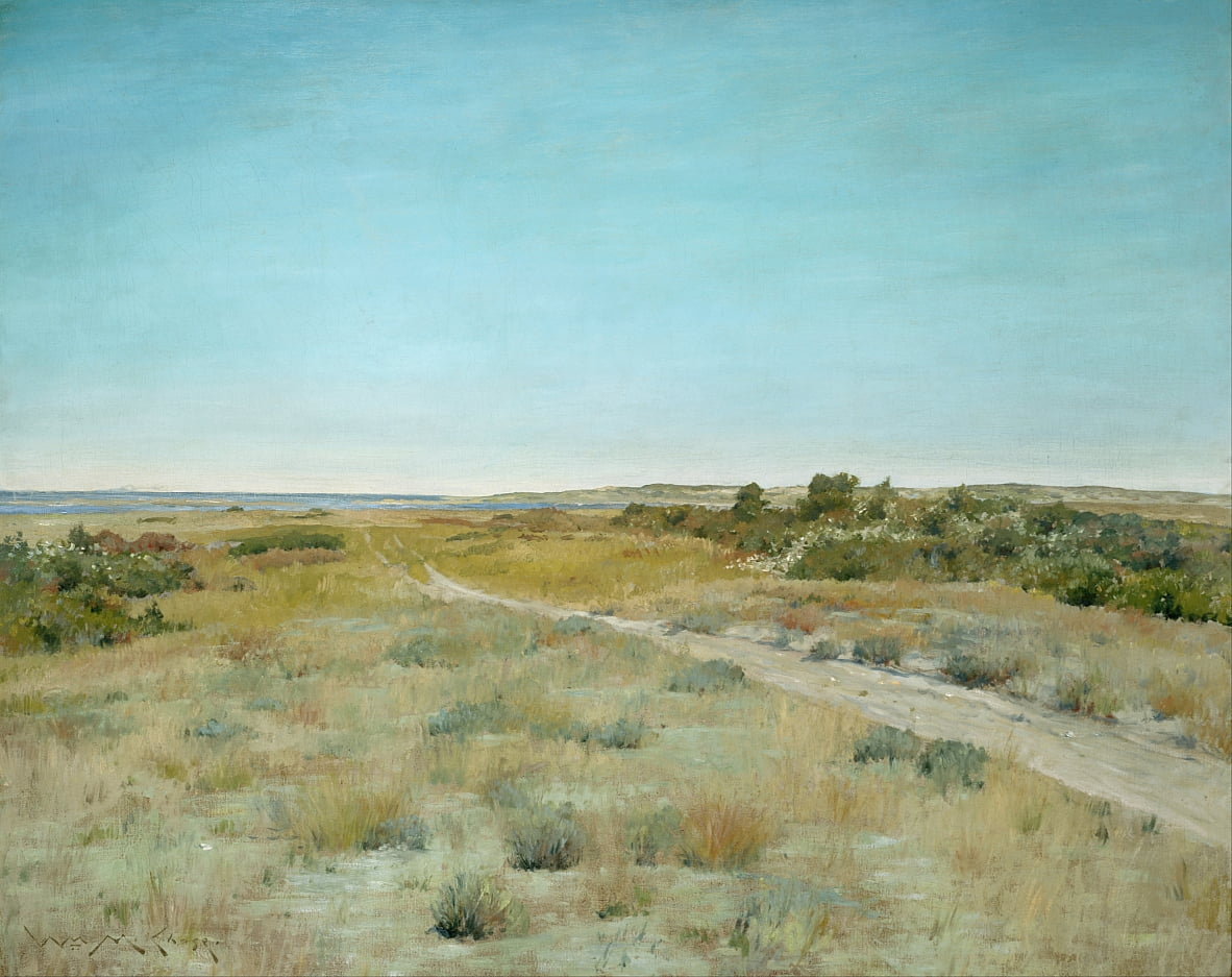 Primeiro toque do outono de William Merritt Chase